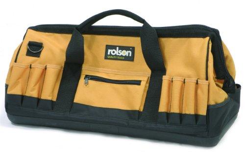 Rolson 68269 - Bolsa portaherramientas con base rígida (600mm)