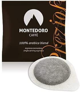 Espresso Pods - Montedoro Prezioso 100% Pure Arabica - 150 Pods Individually Wrapped.