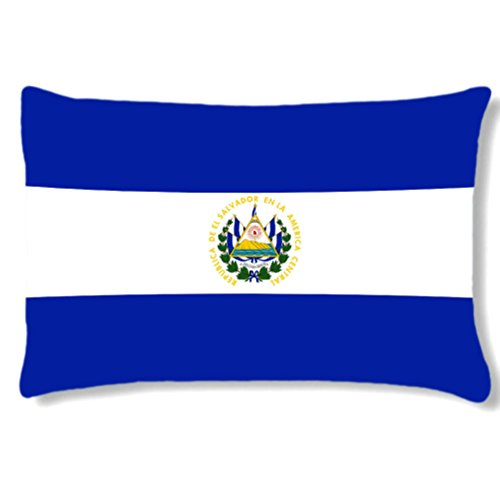 Grand coussin rectangulaire El salvador by Cbkreation