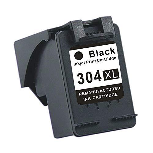 Compatible con el cartucho de tinta HP 304XL HP DeskJet 2622 2630 2632 Envy 5020 5030 5010, aproximadamente 600 páginas en negro, aproximadamente 450 páginas en color (5% de cobertura de papel A4)-b