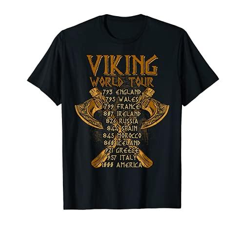 Viking Shirts: Viking World Tour