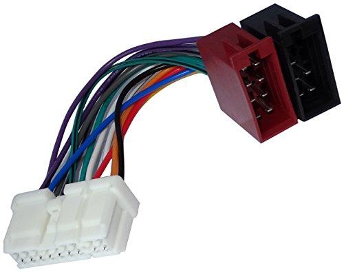 AERZETIX: Adaptador Cable Enchufe ISO autoradio Coche