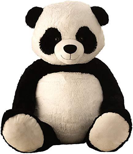 Lifestyle & More Riesen Teddybär Panda Pandabär Kuschelbär XXL 150 cm groß Plüschbär Kuscheltier samtig weich - zum liebhaben