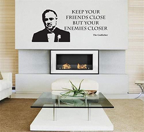 Kinderzimmer Wandaufkleber Poster Der Pate Film Movie Decal Wall Art Home Decor für Wohnzimmer Schlafzimmer