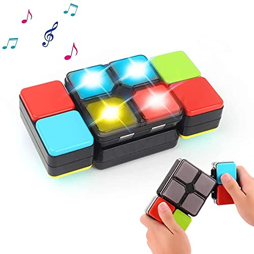 DML Solutions Magic Cube Electronic Music Cube Novelty Puzzle Game for Teens Kids