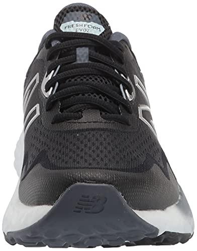 New Balance MEVOZV1 Zapatillas para Correr, Negro (Black/Gray), 41 1/3 EU