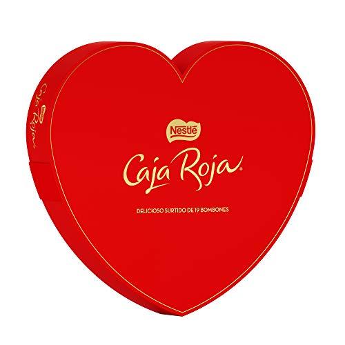 Nestlé Caja Roja Corazón San Valentín 169 g - Pack de 8