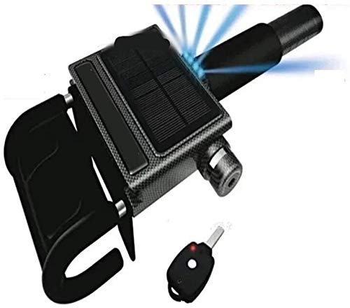 Bloqueo de la rueda del volante de la rueda del volante, monitoreo remoto Anti-robo bidireccional, solar de dos vías de bloqueo de teléfono móvil