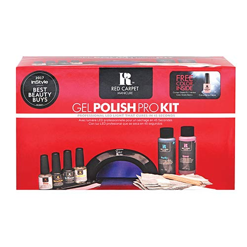RC Red Carpet Manicure Gel Polish Pro Kit