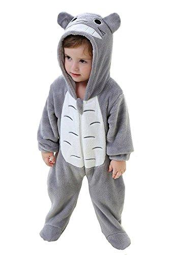 Bonito disfraz de animal Tonwhar para bebés, unisex Totoro Talla:100(Height:31