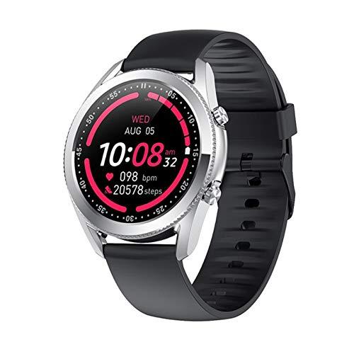 LDJ Smartwatch 2021 G33 Hombre Reloj Inteligente Bluetooth Call Bluetooth Presión Arterial Tasa De Corazón Rastreador De Fitness Reloj Impermeable,B