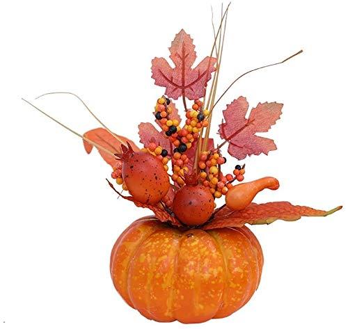Künstlicher Kürbis, Doubeles künstlicher Kürbis künstliches Gemüse künstlicher Kürbis großer Outdoor-Kürbis für Halloween Thanksgiving Day Dekorationen