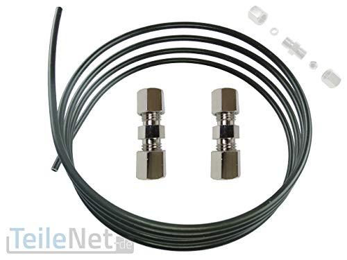 Bremsleitungsverbinder 4,75mm Schnellverbinder 2 Stück + ATE Bremsleitung 2m