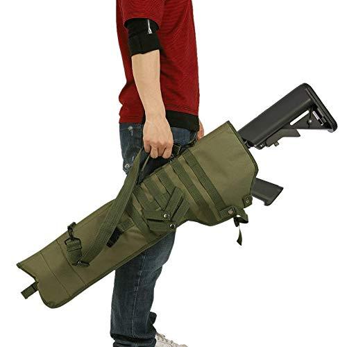 TBDLG Tragbarer Gewehr Weichkoffer, wasserdichte Jagd-Rucksack, für Haus, Auto, Camping, Wandern, Sport, Arbeit, Überleben und Reisen