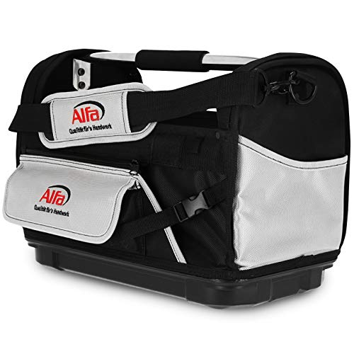 Werkzeugtasche 42x23x30cm - wasserdichte Bodenschale, gepolsteter Tragegriff - robust strapazierfähig konfortabel geräumig leicht