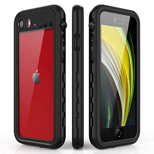 AICase iPhone SE 2020 Wasserdicht Hülle,iPhone 8 Wasserdicht Hülle,iPhone 7 Wasserdicht Hülle, Staubdicht Stoßfest IP68 Zertifiziert voll versiegelt wasserfeste handyhülle für iPhone se 2020/8/7