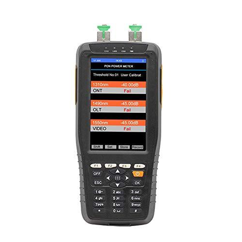KKmoon TM70B prestatiemeter PON tester voor kabels van vezels, optische tester voor universele interface, aansluiting tussen OLT en ONT