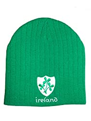 Double thickness for warmth. Premium quality Made in UK Embroidered Ireland Shamrock