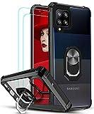 LeYi für Hülle Samsung Galaxy A42 5G mit Panzerglas