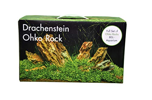 AQUADECOR Deko-Set Drachenstein 80