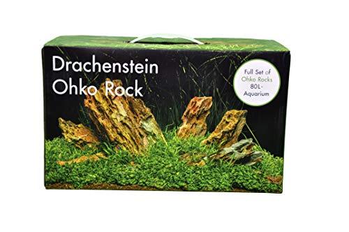 AQUADECOR Deko-Set Drachenstein 80
