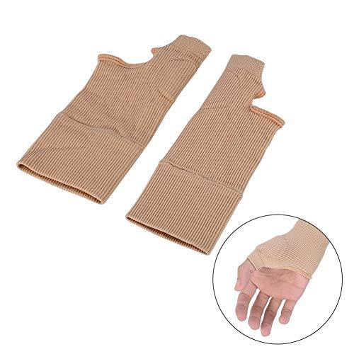 Daumenhandgelenkstütze, 2 Paar Daumenbandagen – Daumenschiene, für Arthritis, Kompressionshandschuhe, ideale Handgelenkunterstützung, Arthritislinderung bei Daumengelenkschmerzen