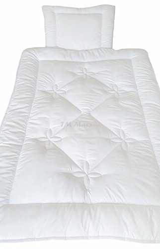 TM Maxx Babyset Kinderdecke Bettdecke Baby Set Steppbett & Kissen • Decke 100x135cm • Kissen 40x60cm • 6 w&erschöne Motive zur Auswahl