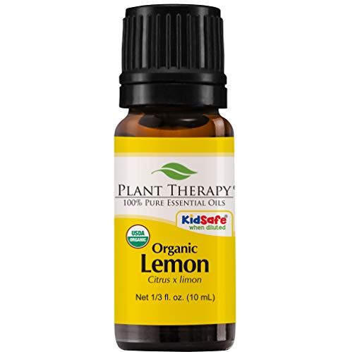 Lemon Organic Essential Oil )