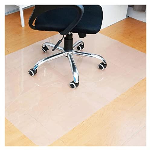 ZWYSL Bürostuhl Unterlage für Hartholzböden Abriebfest Einfach zu Säubern Stühle Bewegen Sich Reibungslos (Color : Clear-1.5mm, Size : 120x170cm)