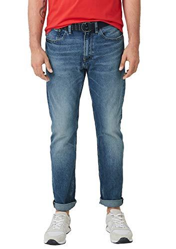 s.Oliver Herren Jeans, Blau (Blue Denim Stretch 55z4), 34W / 34L