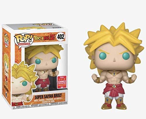 Funko Pop Amine Dragon Ball PORUNGA Super Saiyan Goku Golden Frieza Great Vegeta Figura de accion de Vinilo Modelo Coleccionable con caja-402 Super Broly