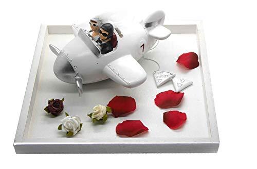 Hochzeitsgeschenk als Geldgeschenk SET Spardose Flieger auf DEKO