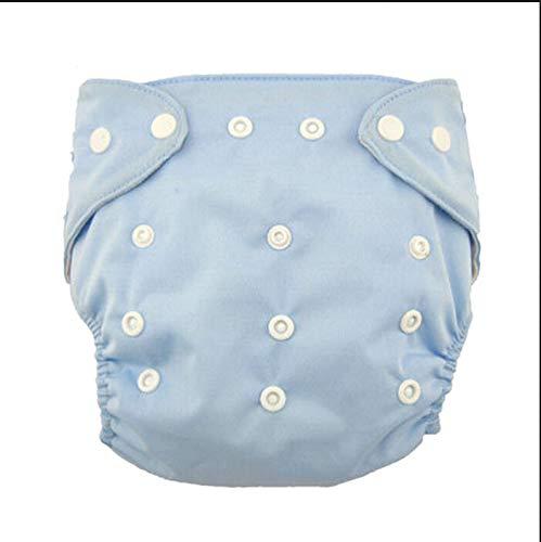 Allence Waschbare Babytuchwindeln,Windel,Verstellbarer Knopf Baby Stoffwindeln Wiederverwendbare...