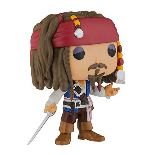 Funko Pop Movie : Pirates of The Caribbean - Captain Jack Sparrow 3.75inch Vinyl Gift for Movies Fan...