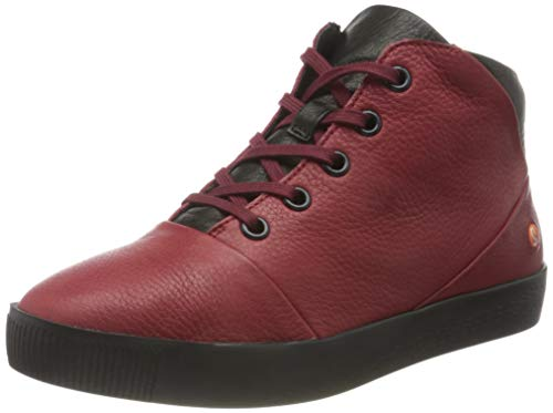 Softinos Damen SHAY604SOF Ankle Boot, Red, 37 EU