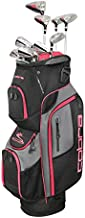 Cobra Golf 2019 XL Speed Complete Set (Women's, Black-Pink, Right Hand, Graphite, Ladies Flex)