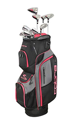 Cobra Golf 2019 Women's XL Speed Complete Golf Set, Right Hand