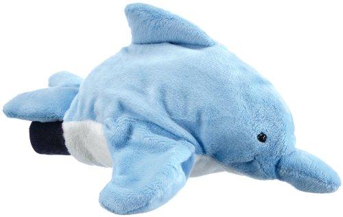 Flipper SwimSafe 1017 - Handpuppe Delfin, wassertauglich, ca. 28 cm groß, ideal für Lernzwecke im Schwimmunterricht, beim Babyschwimmen und Planschvergnügen in der Badewanne