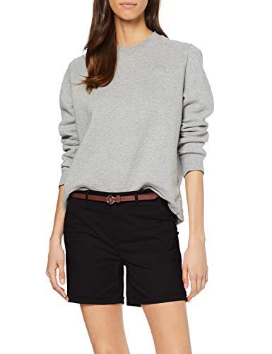 Scotch & Soda Maison Damen Baumwoll Shorts, Schwarz (Black 0008), W26(Herstellergröße: 26)