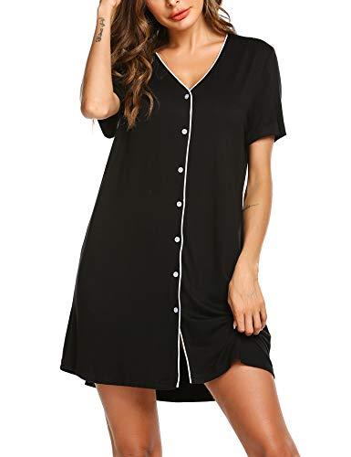 ADOME Nightdress for Women Maternity Pyjamas Nightshirt Nightwear Pregnancy...