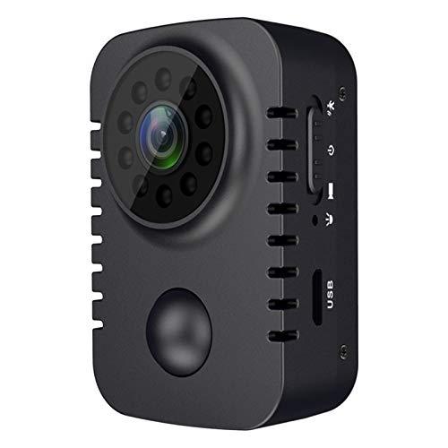 balikha 1080P Full HD Micro Camera Back Clip Grabación de Video Visión Nocturna DV Nuevo - Negro
