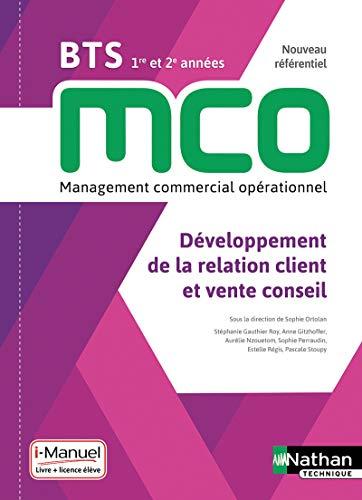 Développement de la relation client et vente conseil - BTS MCO 1re et 2e années