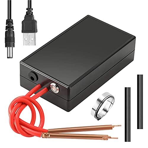 Handheld Spot Welder, 6-Speed Adjustable Mini Spot Welder With Spot Welding Pen, Charging Cable And Nickel Sheet, Suitable For 18650 Battery Craftsmen/Beginners