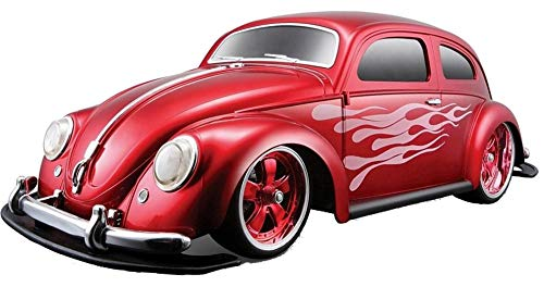 Maisto Tech RC-Komplett-Set VW Käfer Beetle ROT Funkferngesteuertes Modellauto 1:10