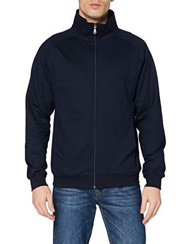 Trigema Herren 674104 Strickjacke, Blau (Navy 046), Large