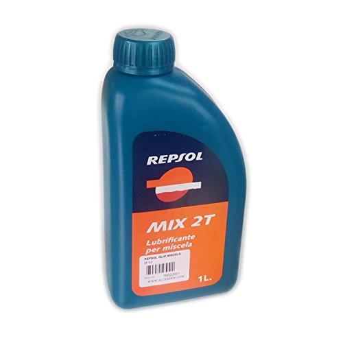 Repsol - Aceite Mix 2T para motores de mezcla de 1 litro