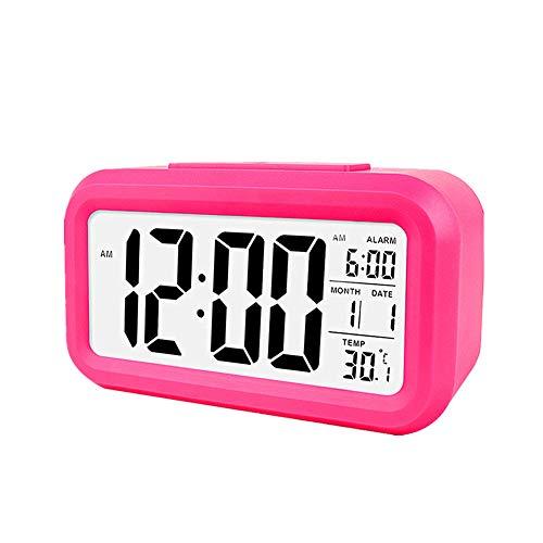 PPING Radio Despertador Digital Reloj Despertador fortnite Relojes Digitales de Noche Reloj de Mesa Los niños Reloj de Alarma Cuarto de baño Reloj Red