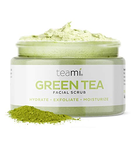 Teami Matcha Green Tea Face Scrub for All Skin Types