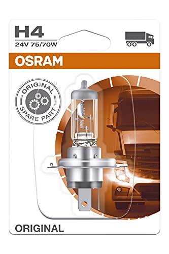 Osram OS64196-01B LÁMPARA CAMIÓN H4 P43T 24V 75/70W EN Blister, Other
