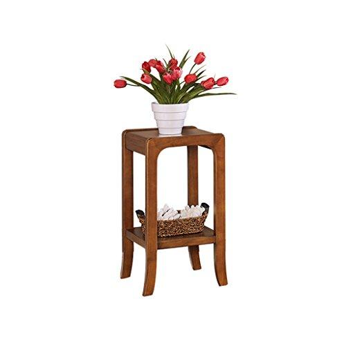 MLHJ Puesto de Flores- Soporte de Flor de Madera sólida, Marco de múltiples Capas de pie de pie de los bonsais del álamo, Conveniente para el balcón de la Sala de Estar (Tamaño : 60 * 32 * 32cm)